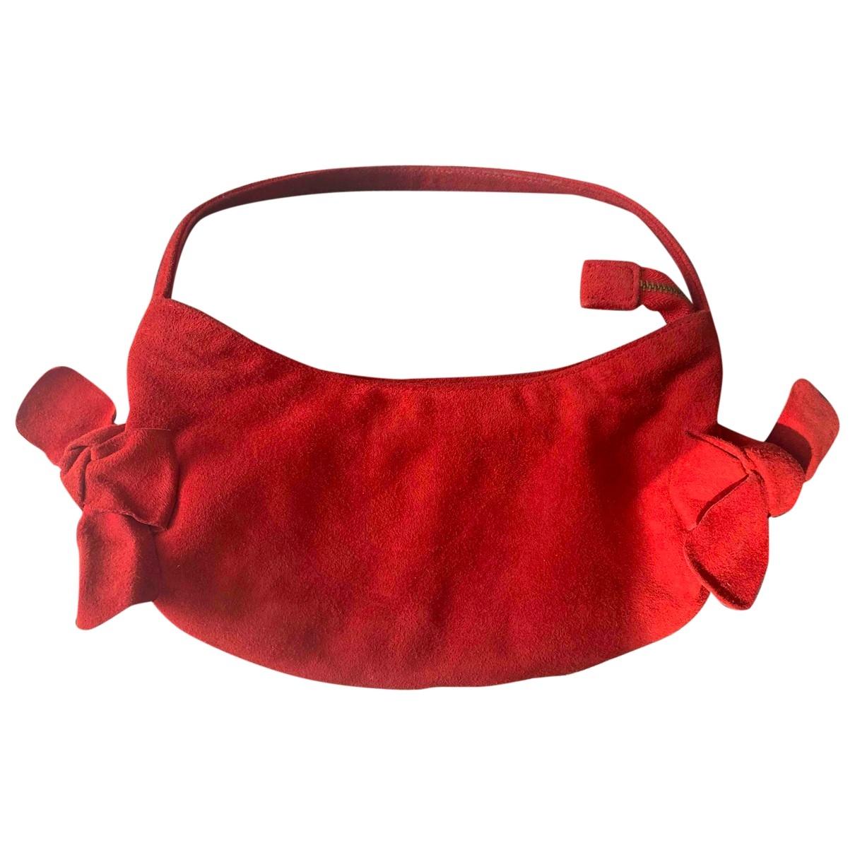 Lk Bennett \N Red Suede handbag for Women \N