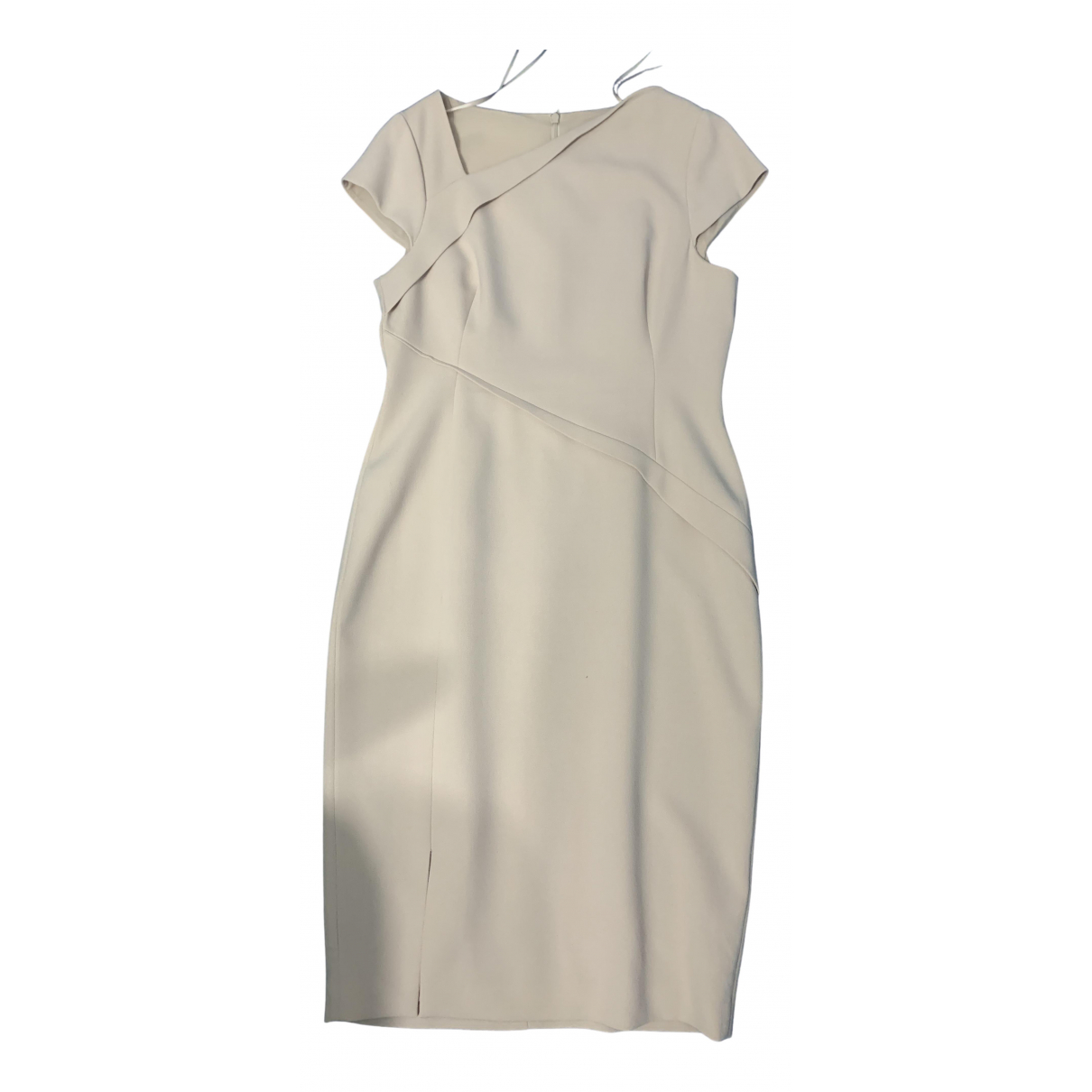 Lk Bennett N Beige dress for Women 14 UK