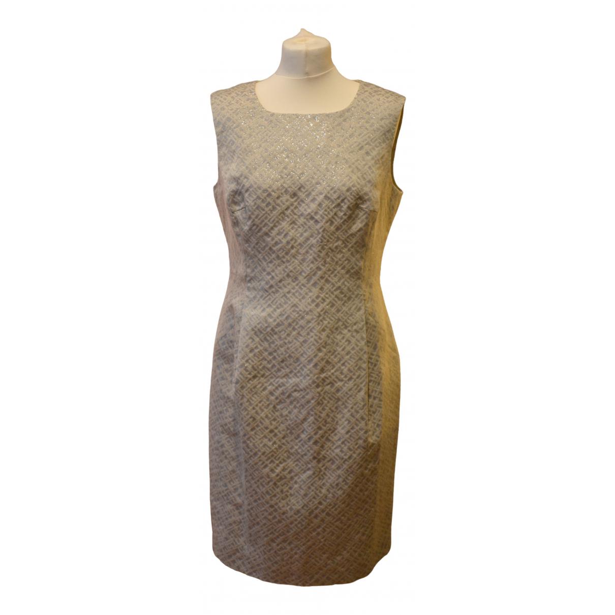 Cappellini N Beige Linen dress for Women 46 IT