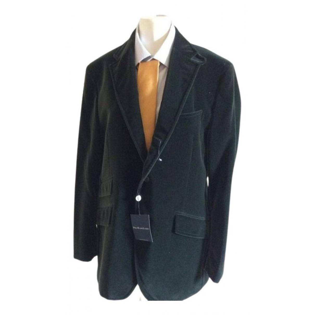 Polo Ralph Lauren N Green Velvet jacket  for Men 48 IT
