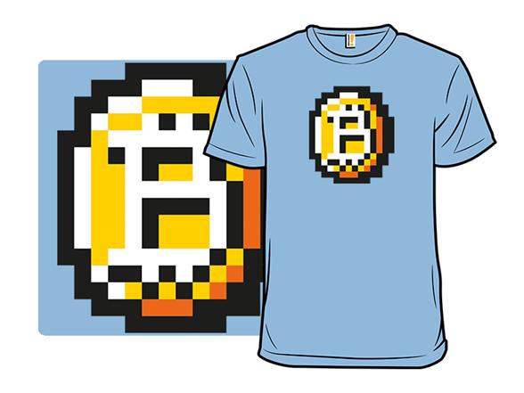 8-bit Coin T Shirt