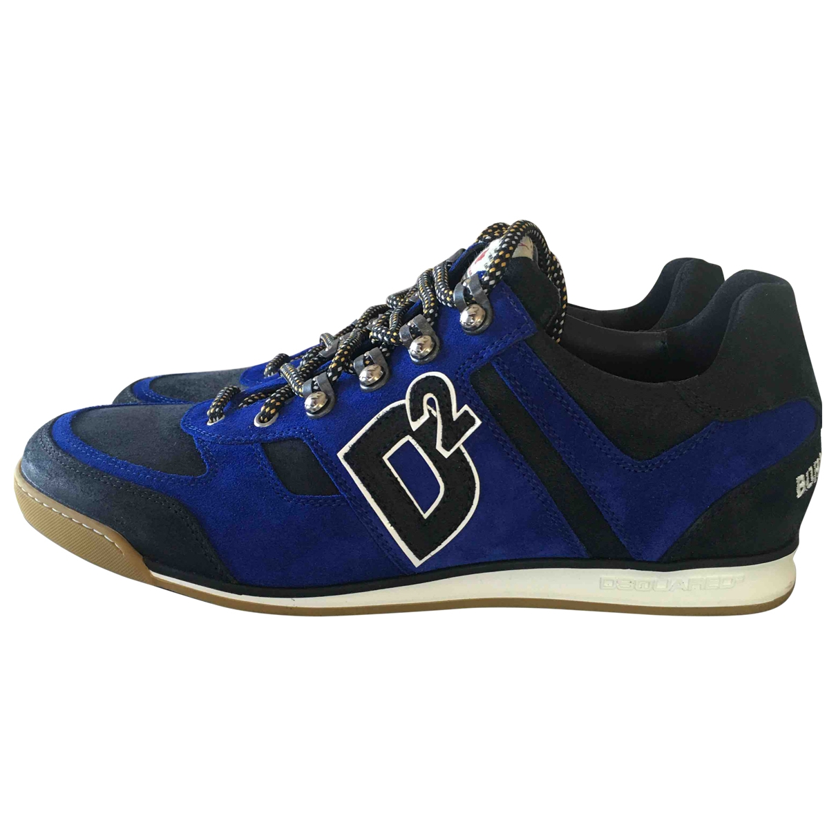 Dsquared2 251 Blue Cloth Trainers for Men 43 EU