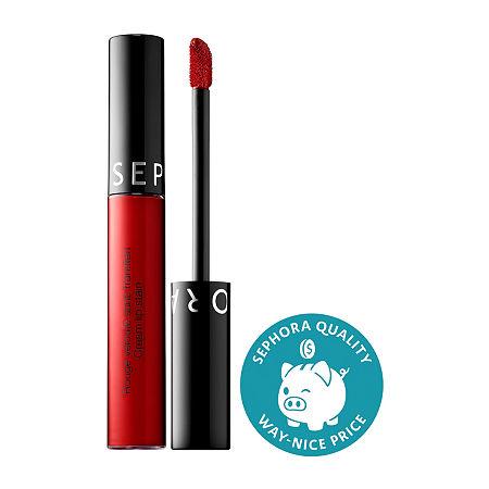 SEPHORA COLLECTION Cream Lip Stain Liquid Lipstick, One Size , Red