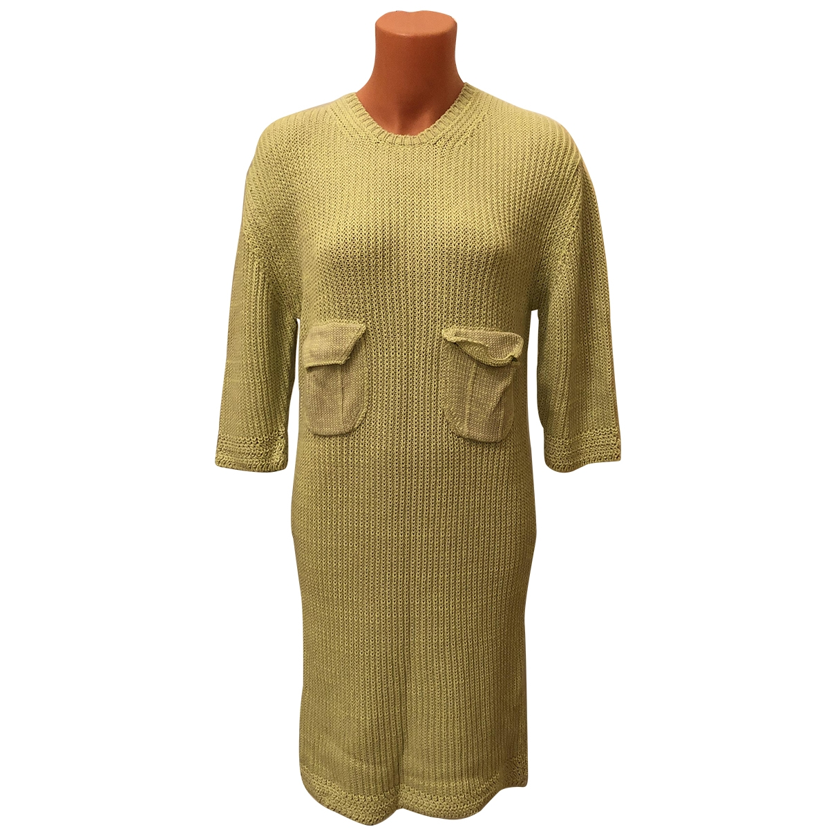 Mcq \N Pullover in  Gelb Baumwolle