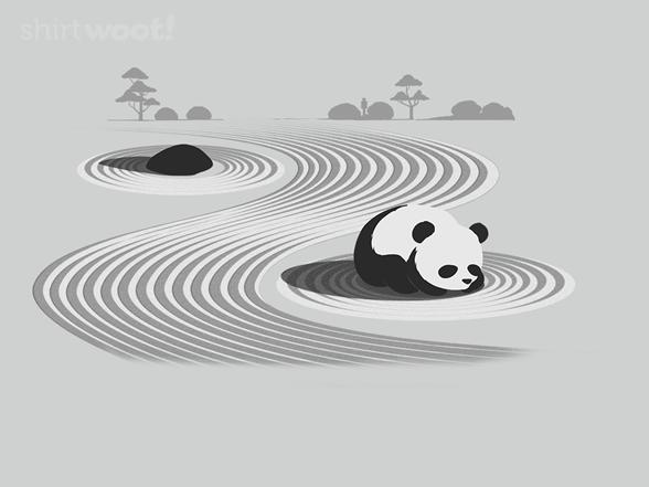 Panda Zen T Shirt
