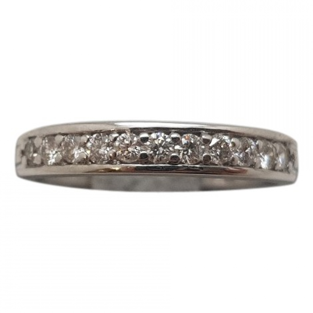 Non Signé / Unsigned Alliance White White gold ring for Women \N