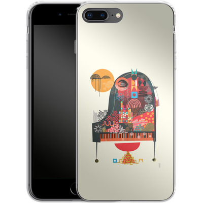 Apple iPhone 7 Plus Silikon Handyhuelle - Sound of Joy von Victoria Topping