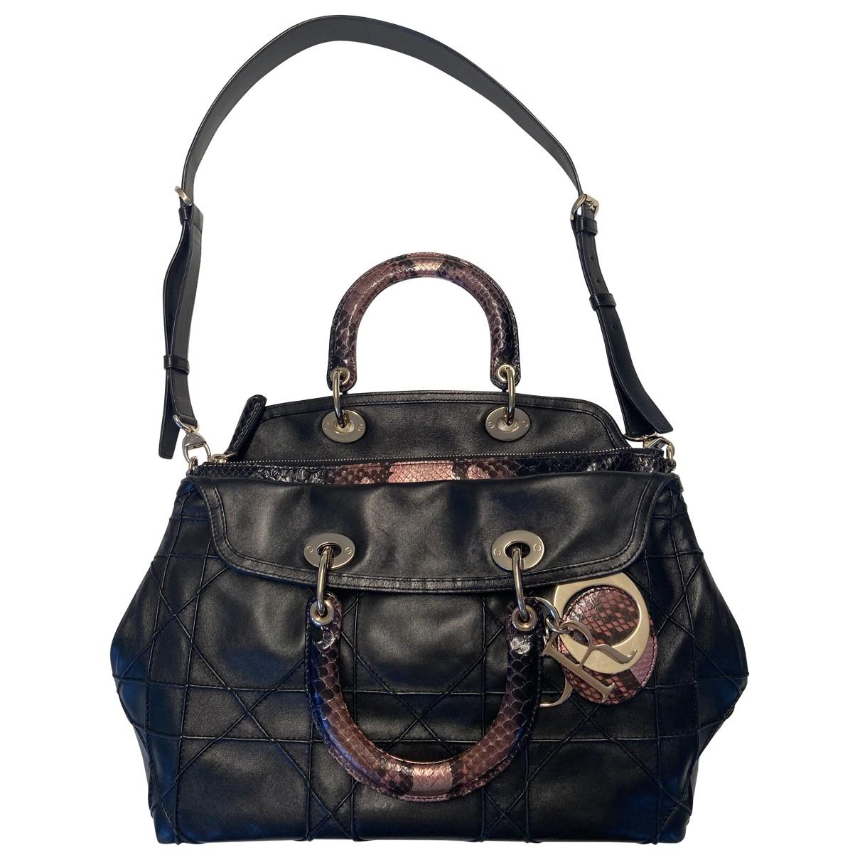 Dior Granville Black Leather handbag for Women \N