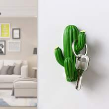 1pc Cactus Shaped Wall Hook