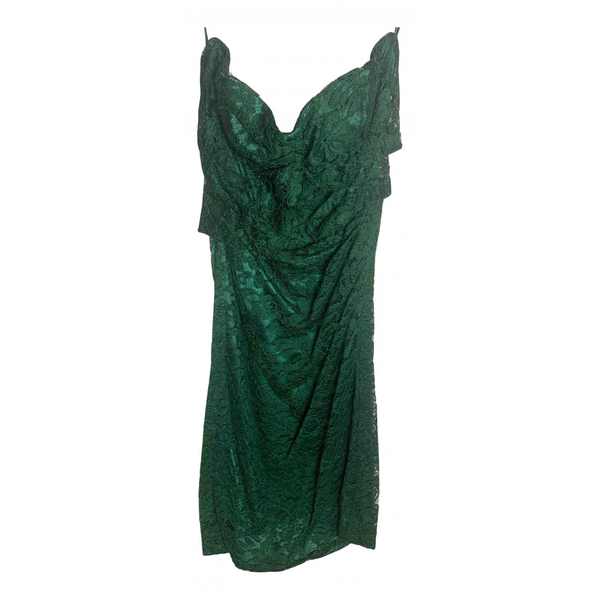 Dolce & Gabbana \N Kleid in  Gruen Viskose