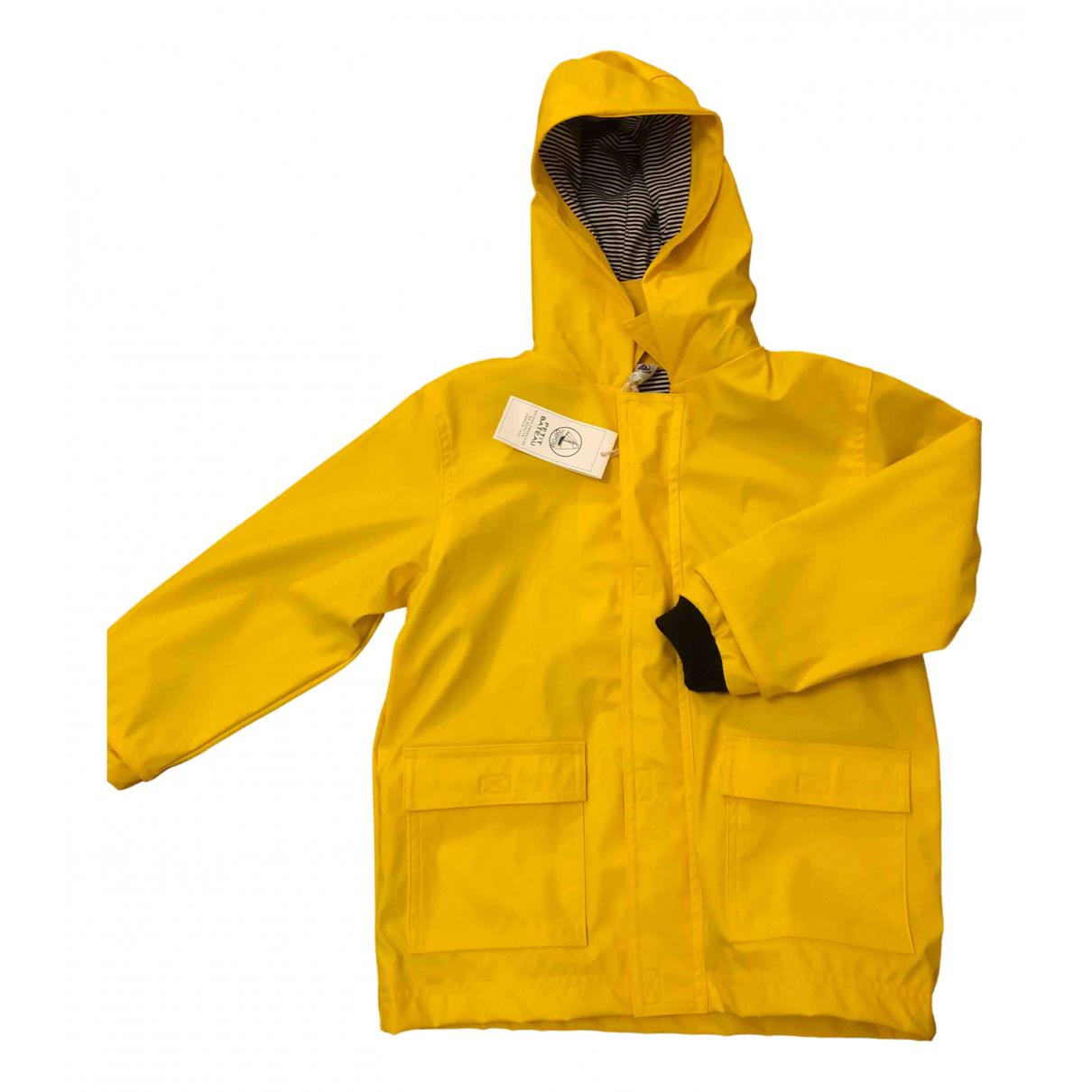 Petit Bateau - Blousons.Manteaux   pour enfant - jaune