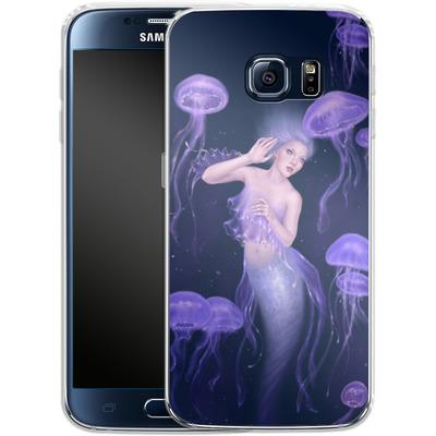 Samsung Galaxy S6 Silikon Handyhuelle - Rachel Anderson - Bioluminescence von TATE and CO