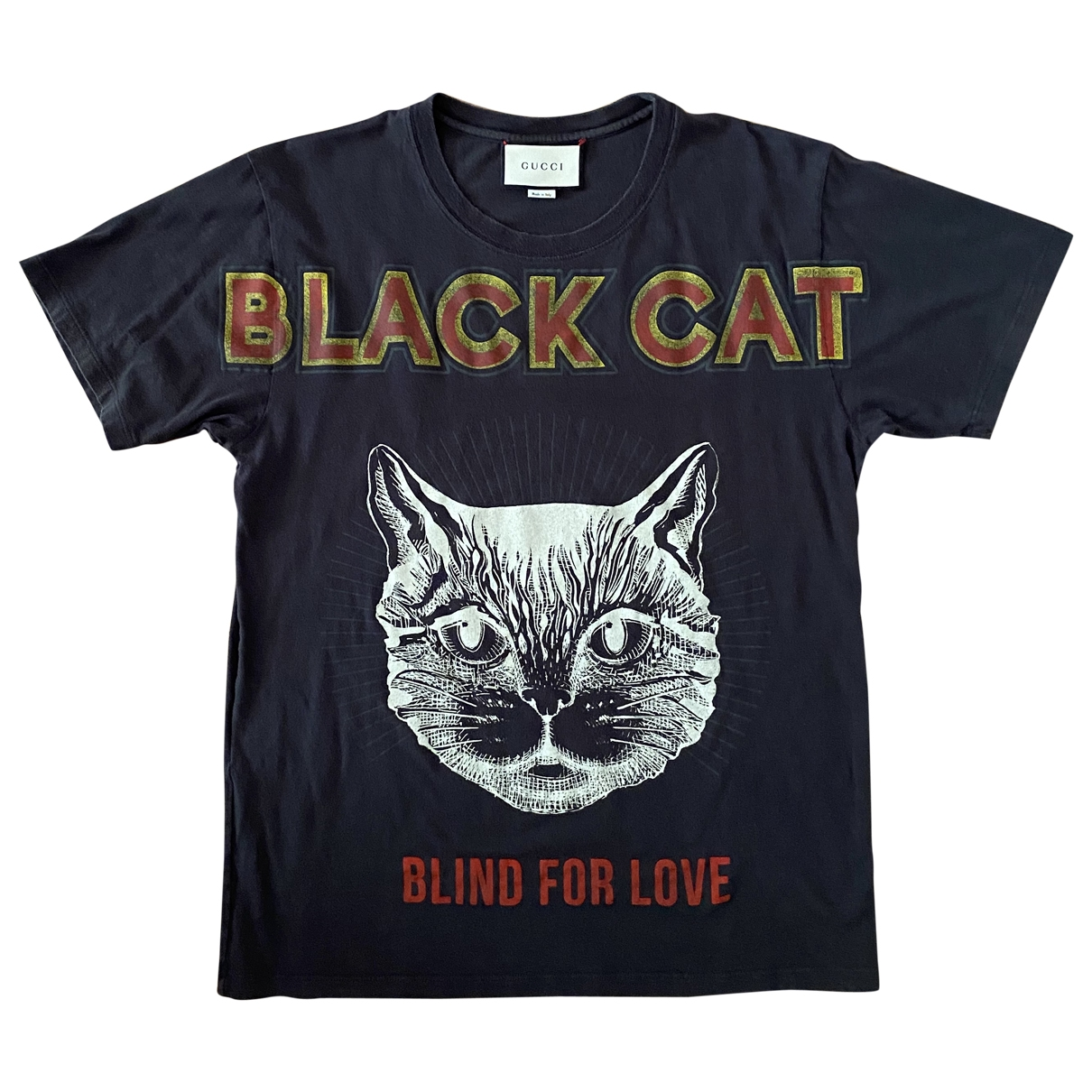 Gucci \N Anthracite Cotton T-shirts for Men M International