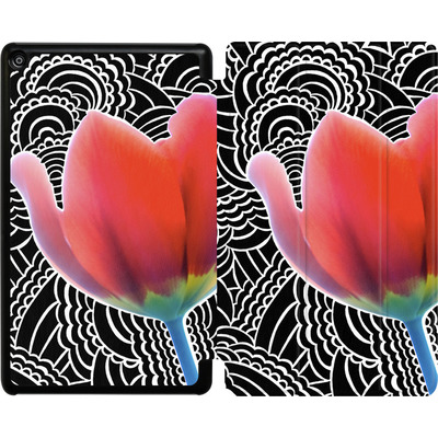 Amazon Fire HD 8 (2017) Tablet Smart Case - Tulips von Kaitlyn Parker