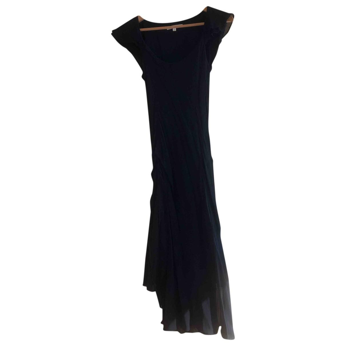 Vanessa Bruno \N Black Silk dress for Women 36 FR
