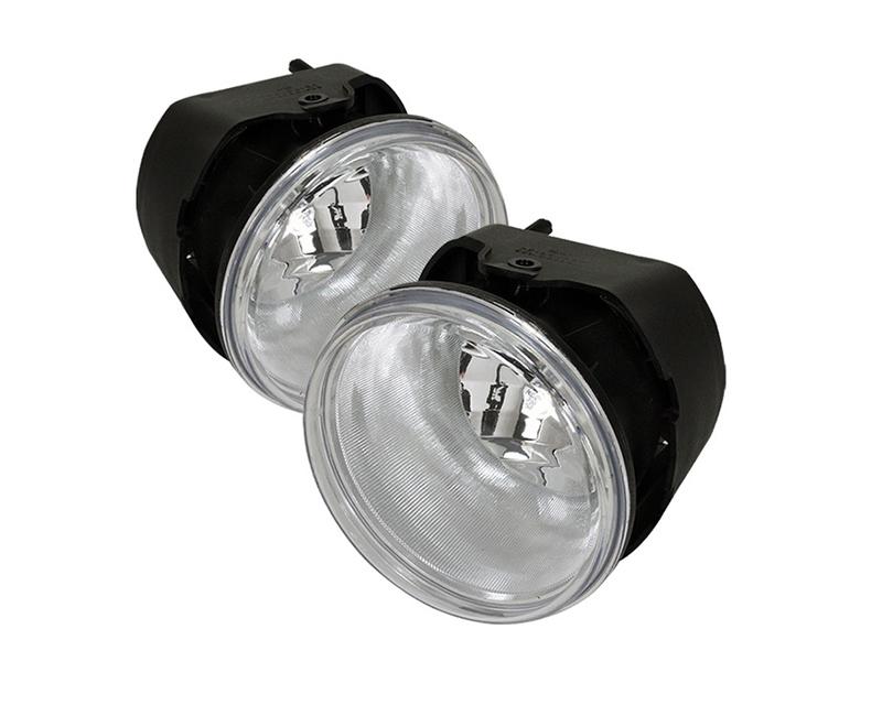 Spyder Auto FL-CMA2012-C OEM Fog Light with Universal Switch Clear Chevy Malibu 12-15