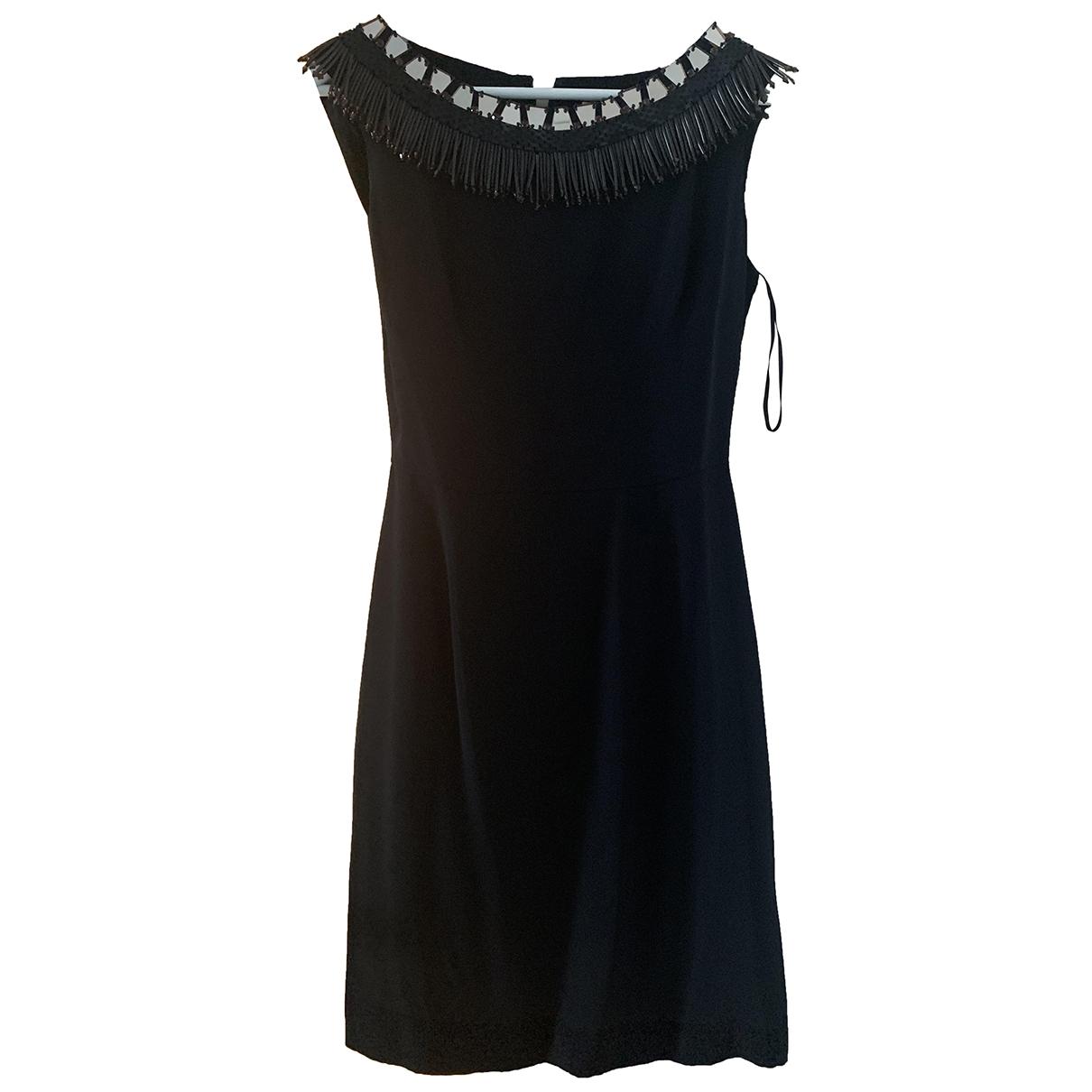 Issa - Robe   pour femme en soie - noir