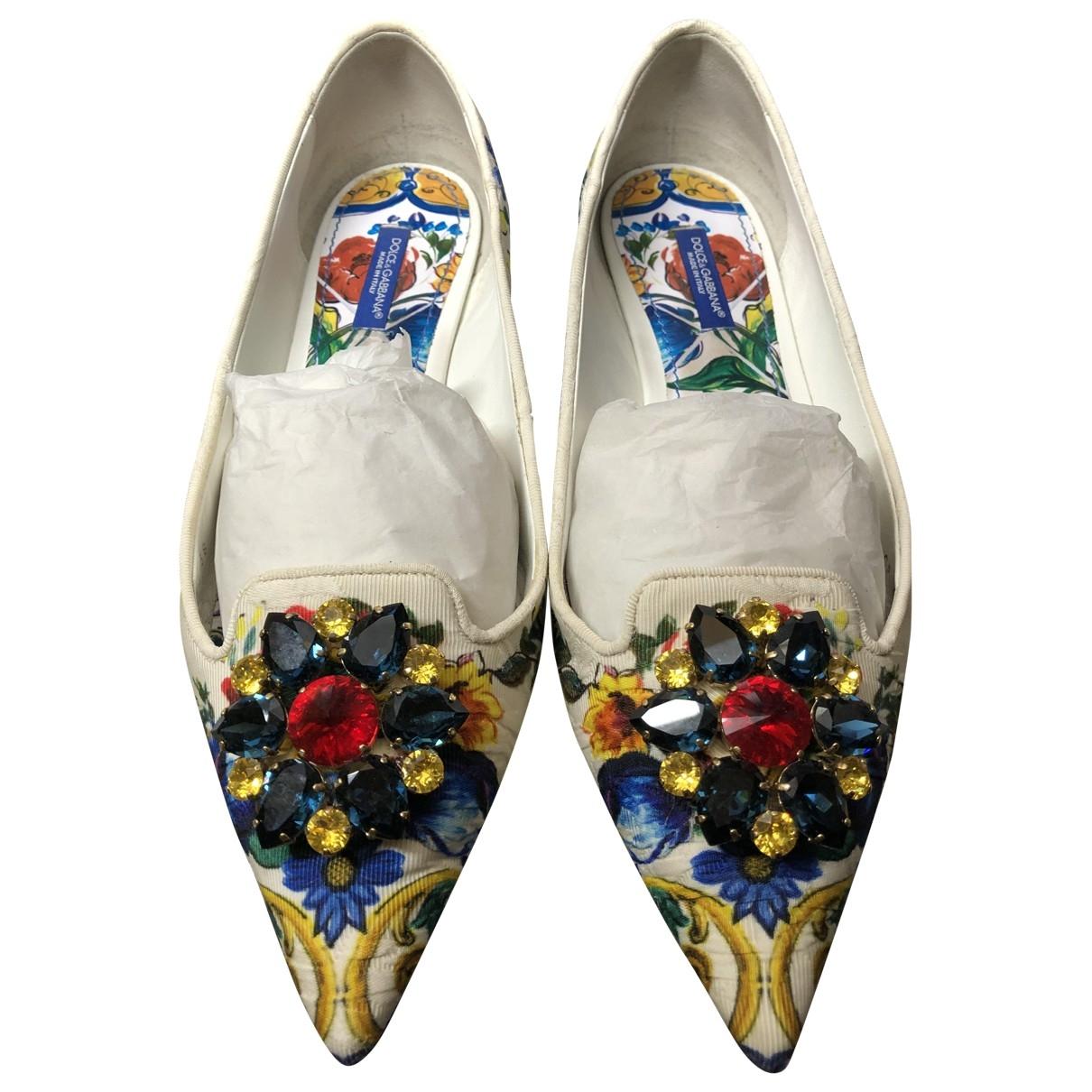Dolce & Gabbana \N Mokassins in  Bunt Leinen