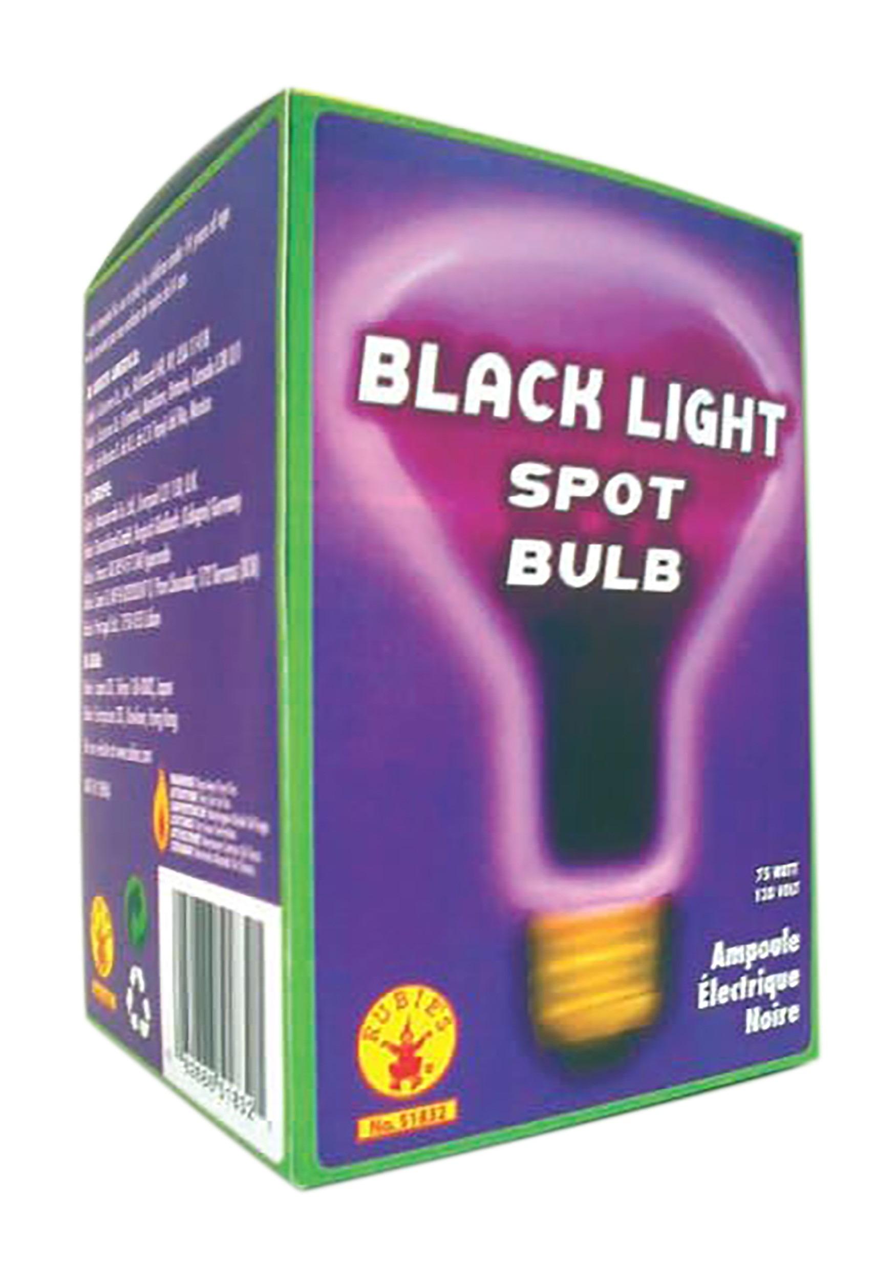 Spot Black Light Bulb 75w