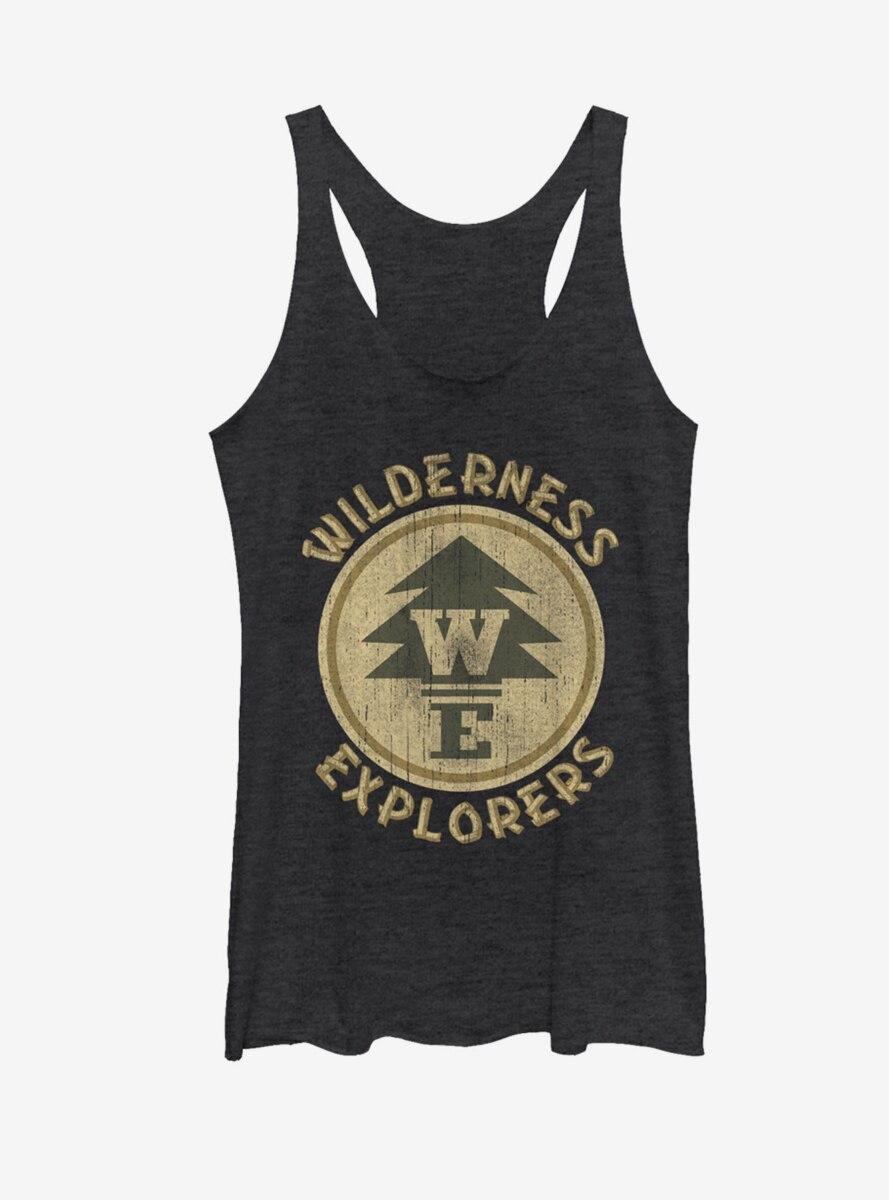 Disney Up Wilderness Explorer Badge Womens Tank
