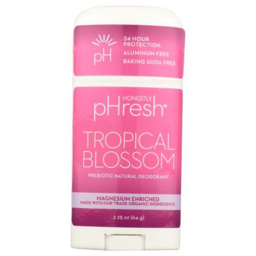 Phresh Deodorant Tropical Blossom 2.25 Oz by Sparklehearts