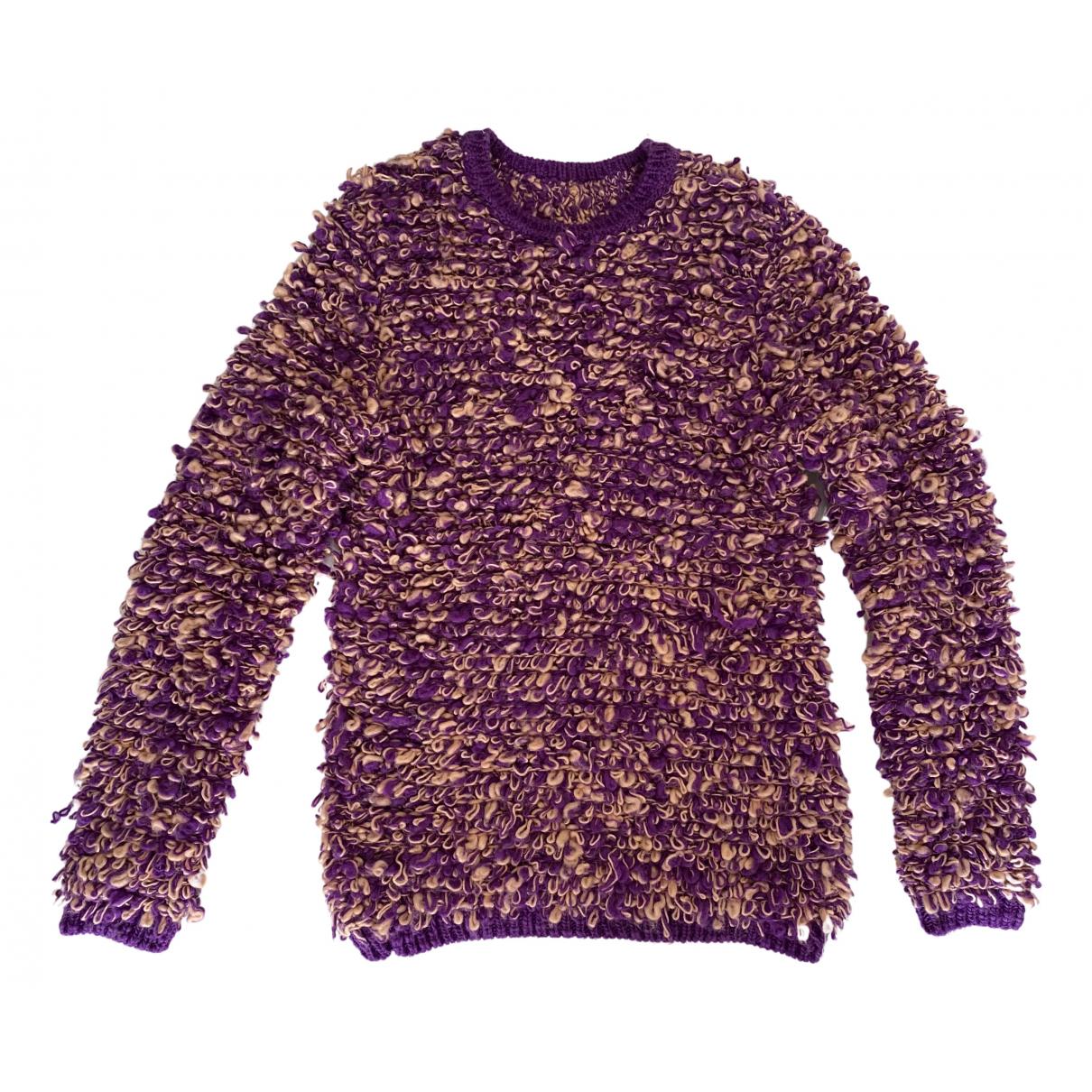 Au Jour Le Jour - Pull   pour femme en laine - multicolore