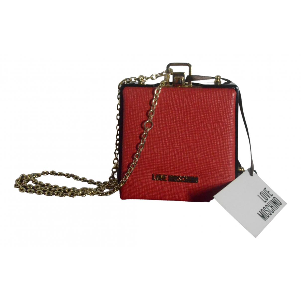 Bolsos clutch en Sintetico Rojo Moschino Love