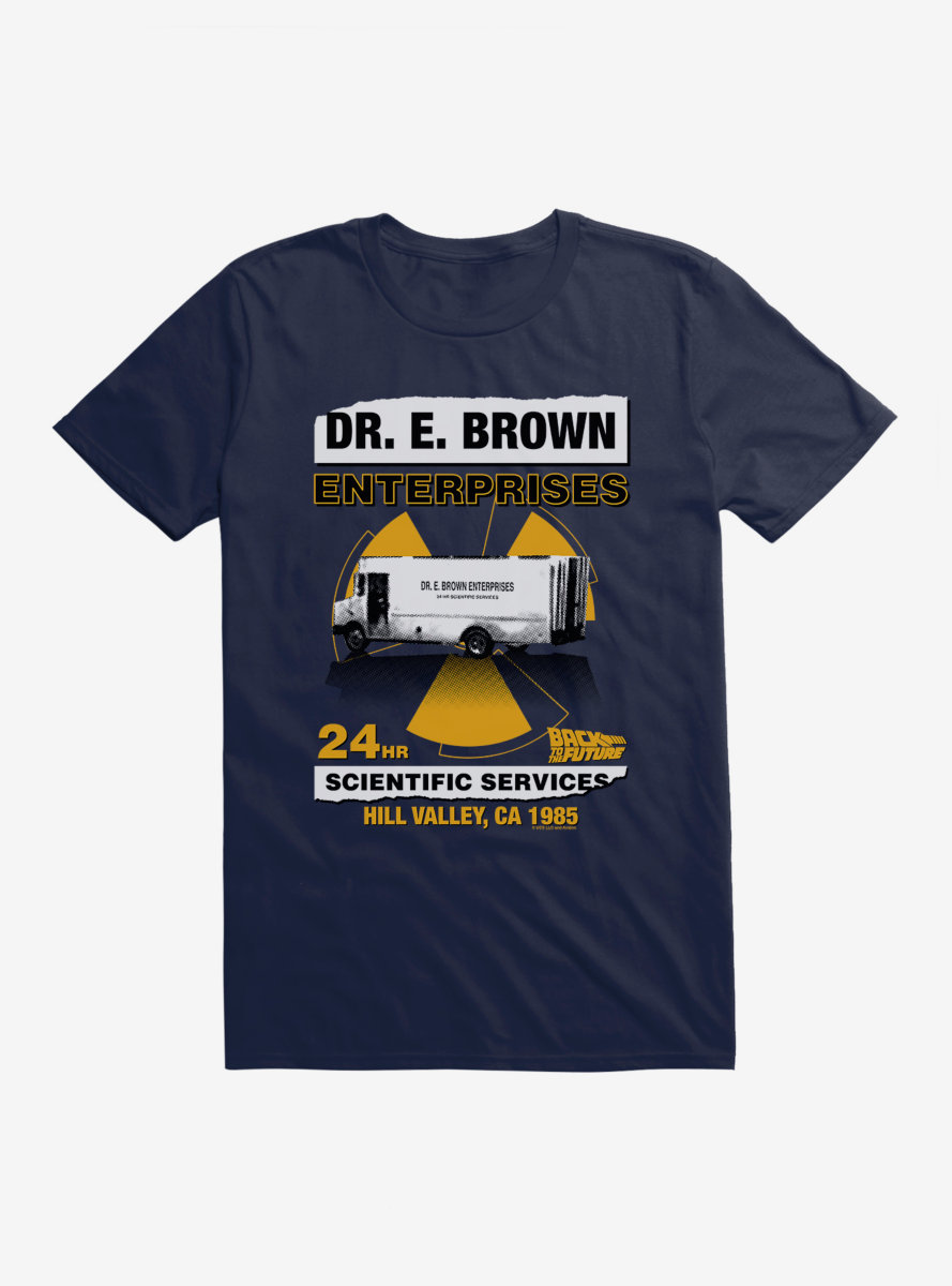 Back To The Future Scientific Services T-shirt