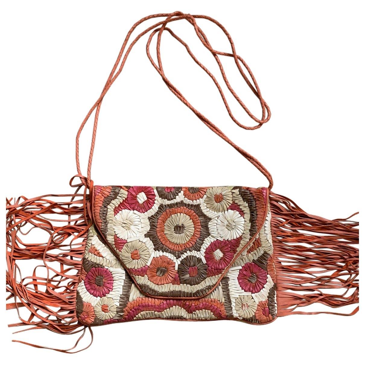 Antik Batik \N Clutch in  Bunt Leder