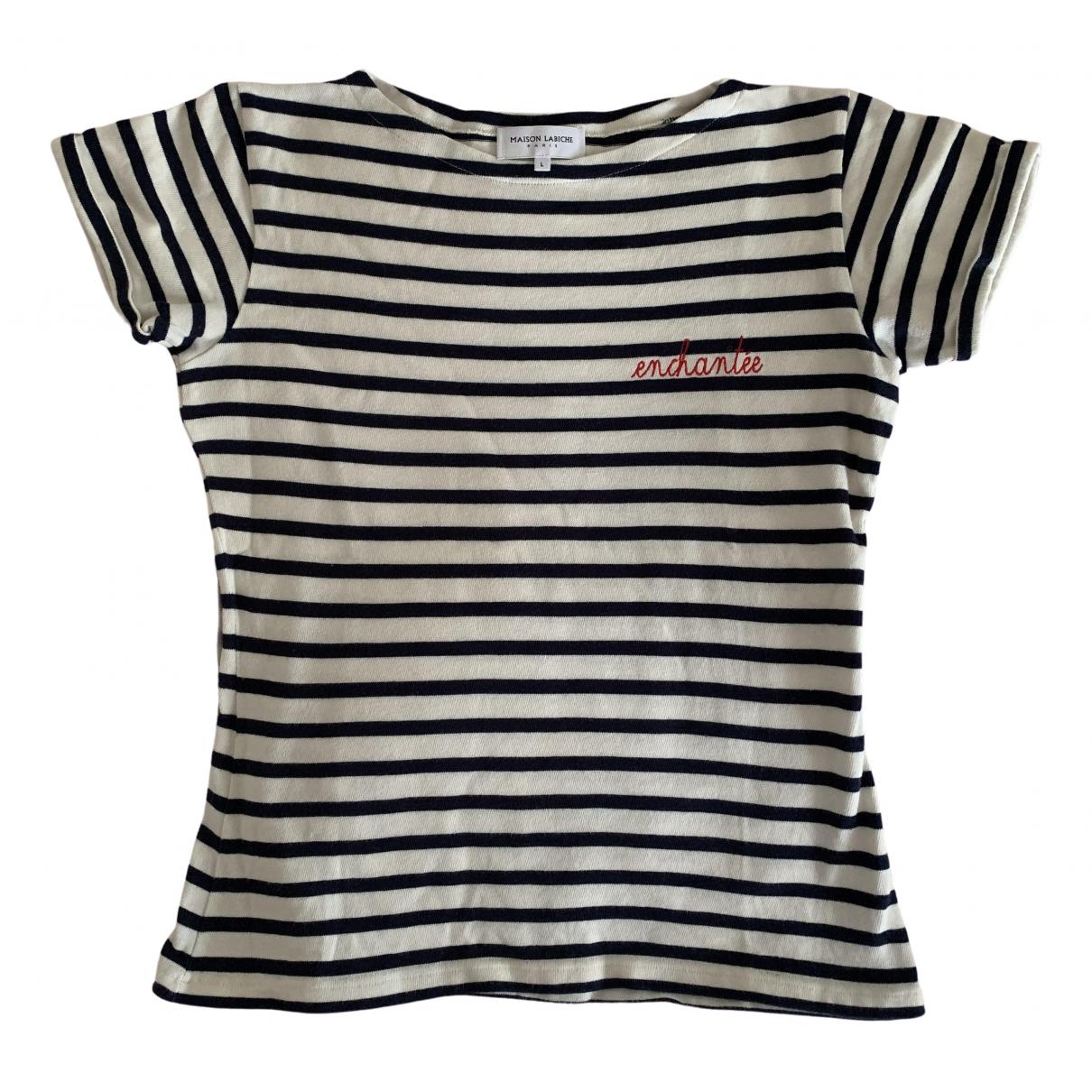 Maison Labiche - Top   pour femme en coton - ecru