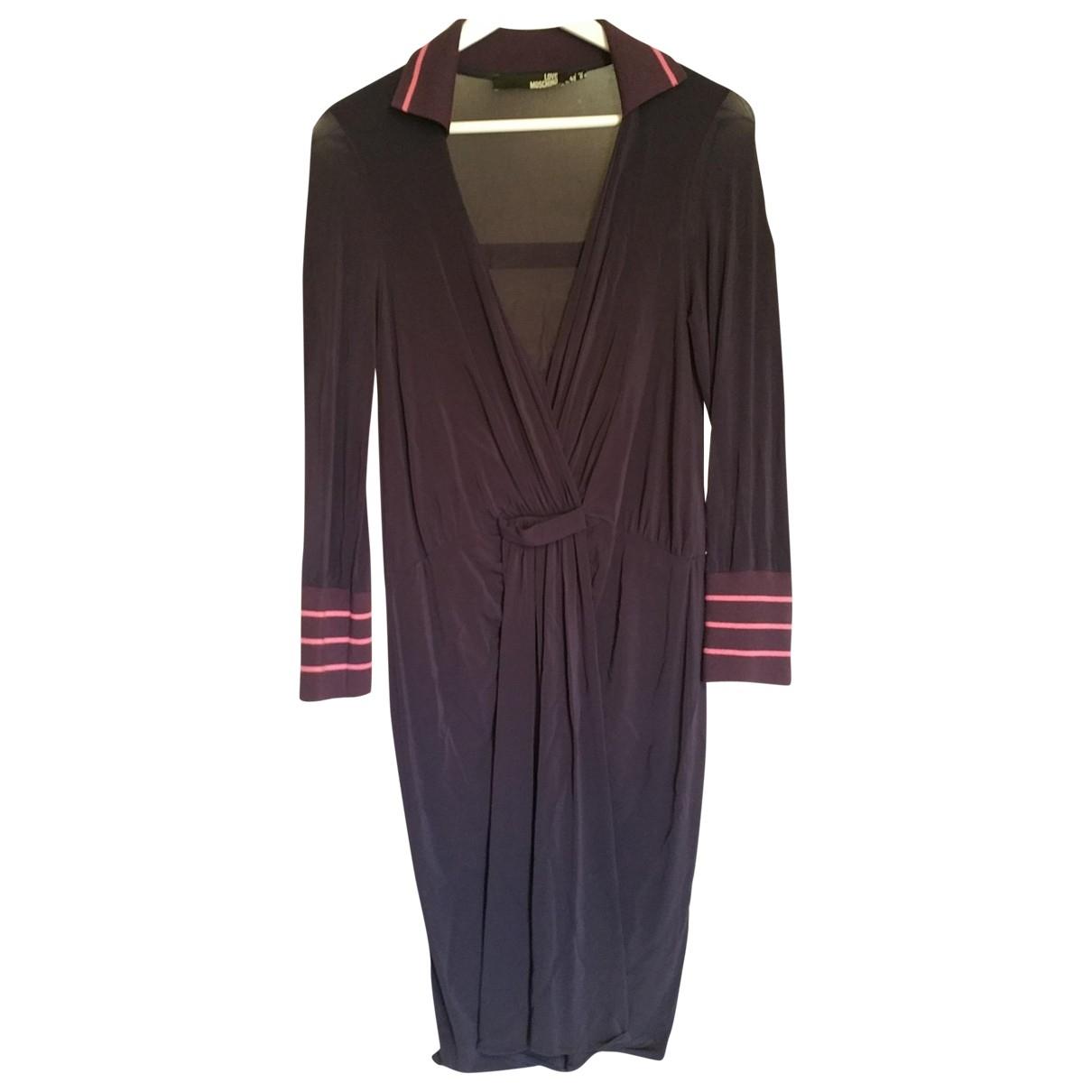 Moschino \N Kleid in  Lila Viskose