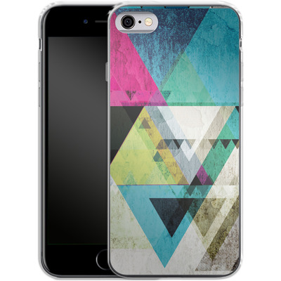 Apple iPhone 6 Silikon Handyhuelle - Graphic 4x von Mareike Bohmer