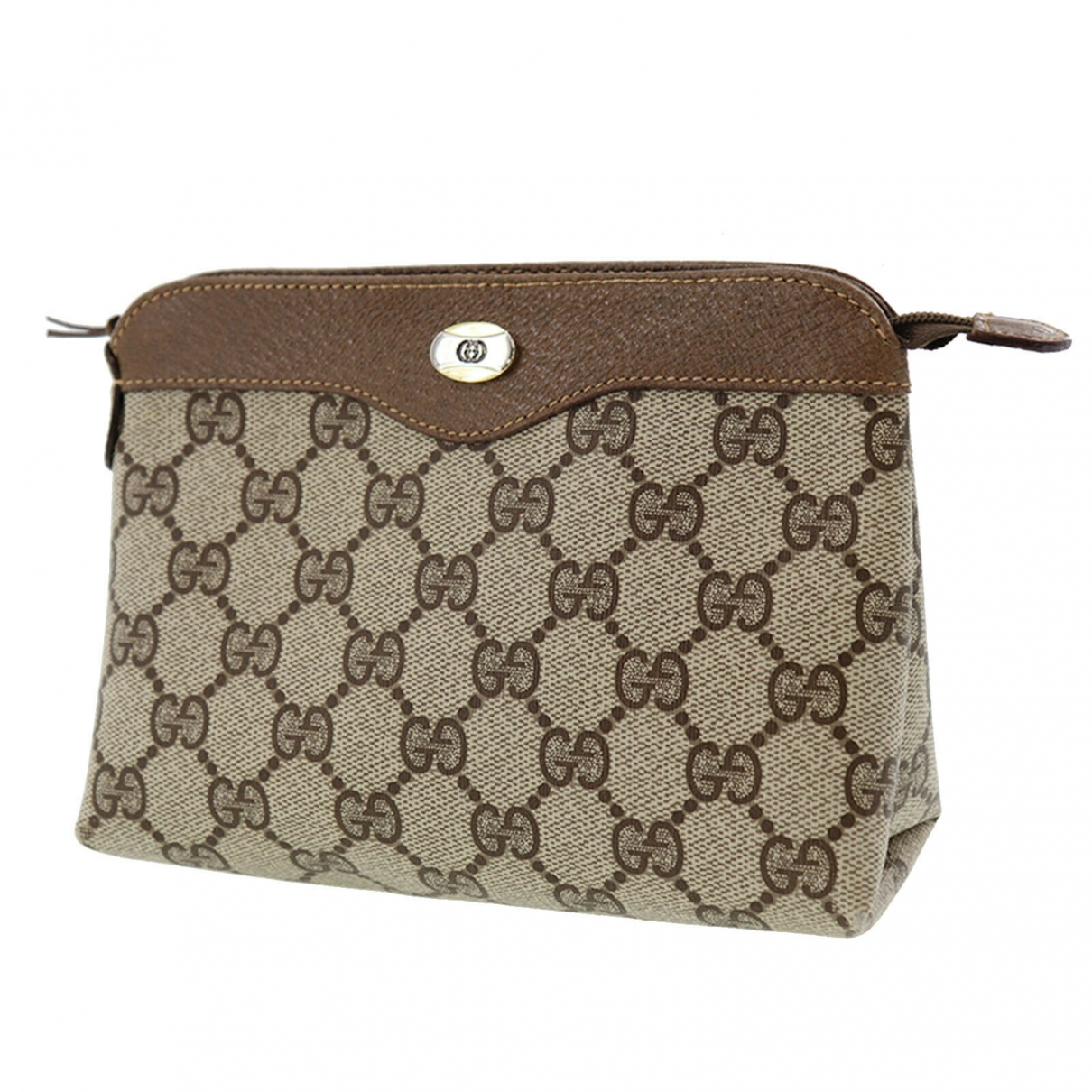 Gucci \N Brown Leather Clutch bag for Women \N