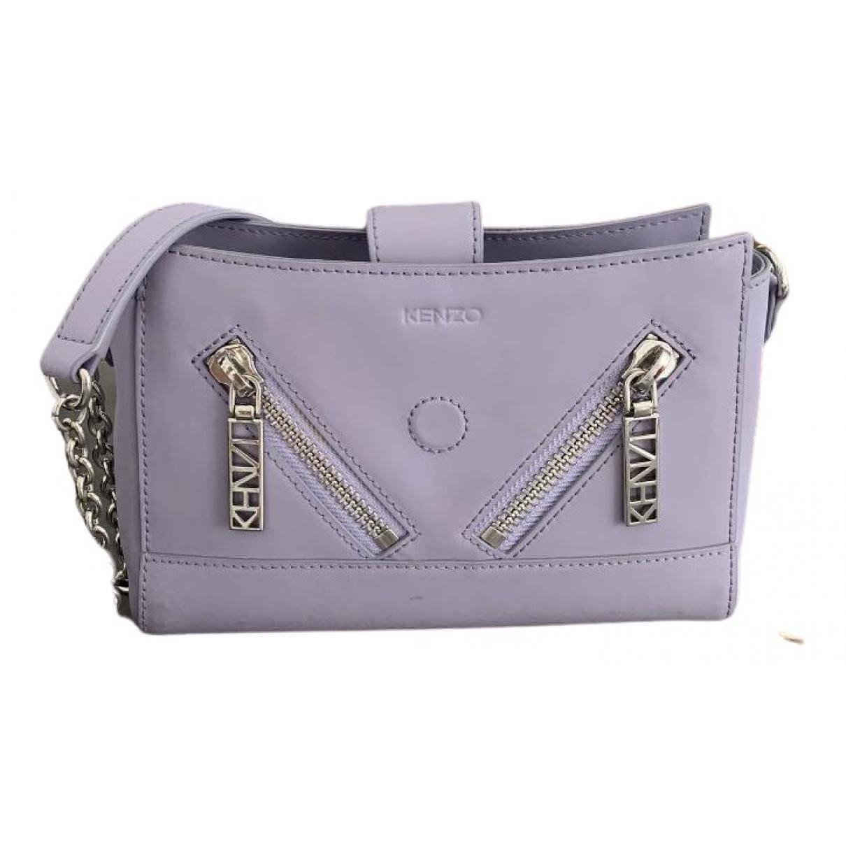 Kenzo \N Handtasche in  Lila Leder