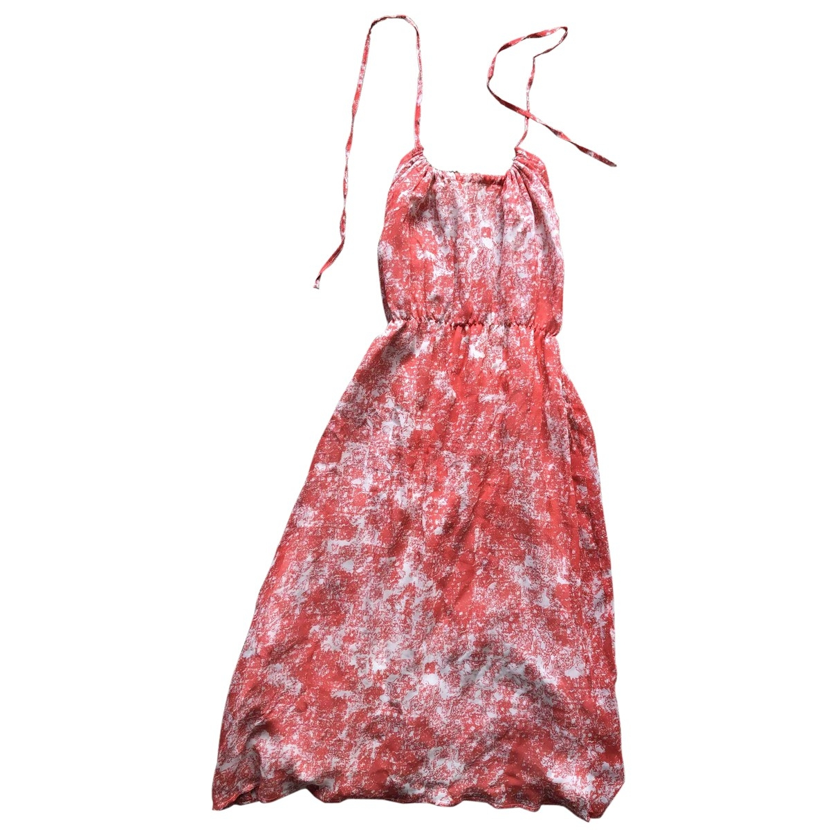 Non Signé / Unsigned \N Silk dress for Women 34 FR