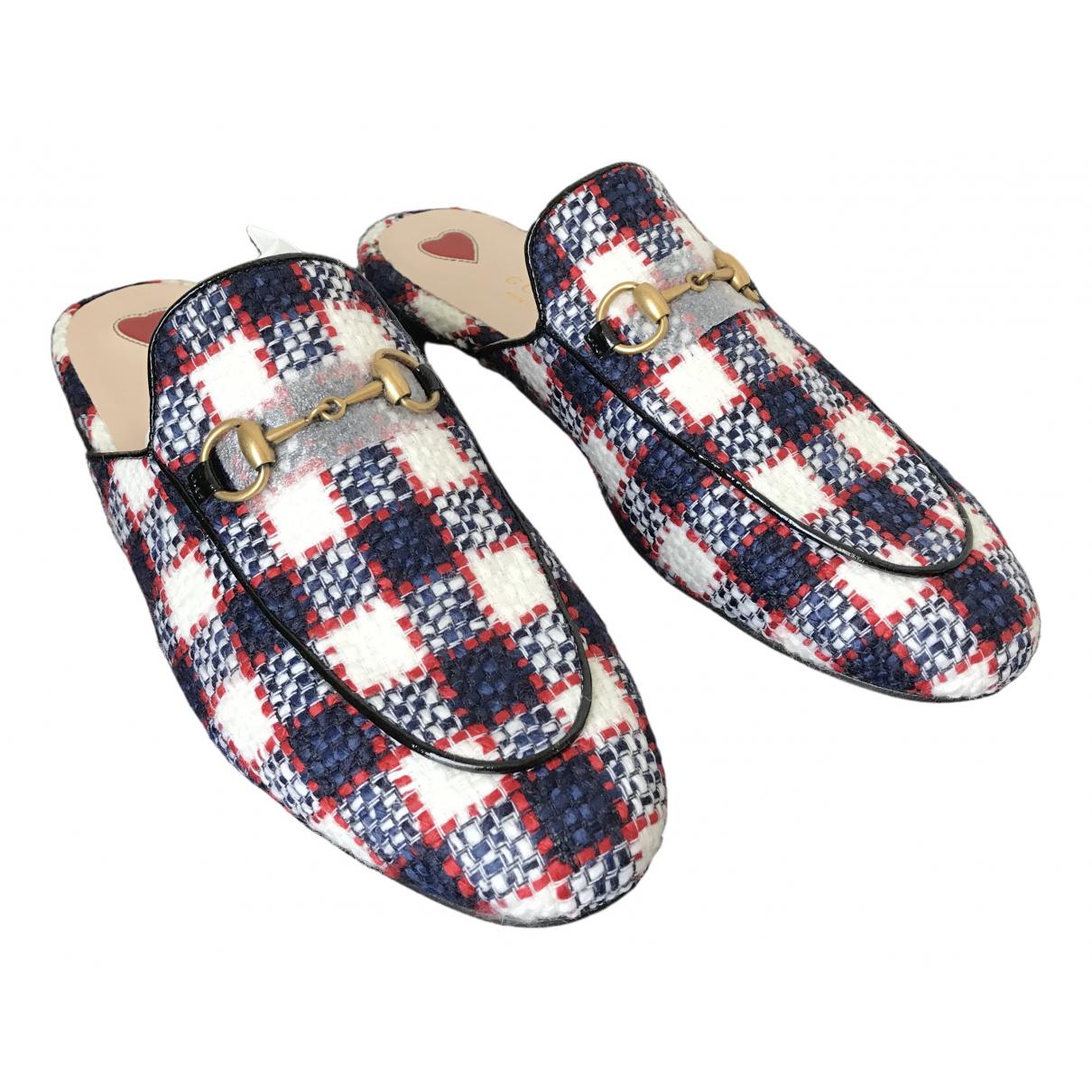 Gucci Princetown Cloth Flats for Women 37.5 EU