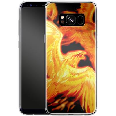 Samsung Galaxy S8 Silikon Handyhuelle - Ruth Thompson - Phoenix Dawn von TATE and CO