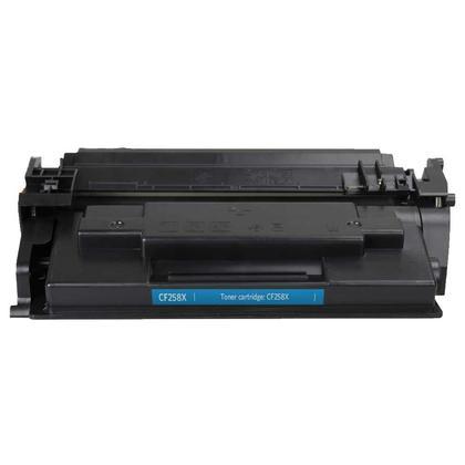 Compatible HP 58X CF258X cartouche de toner noire haute capacité - sans puce - boîte économique