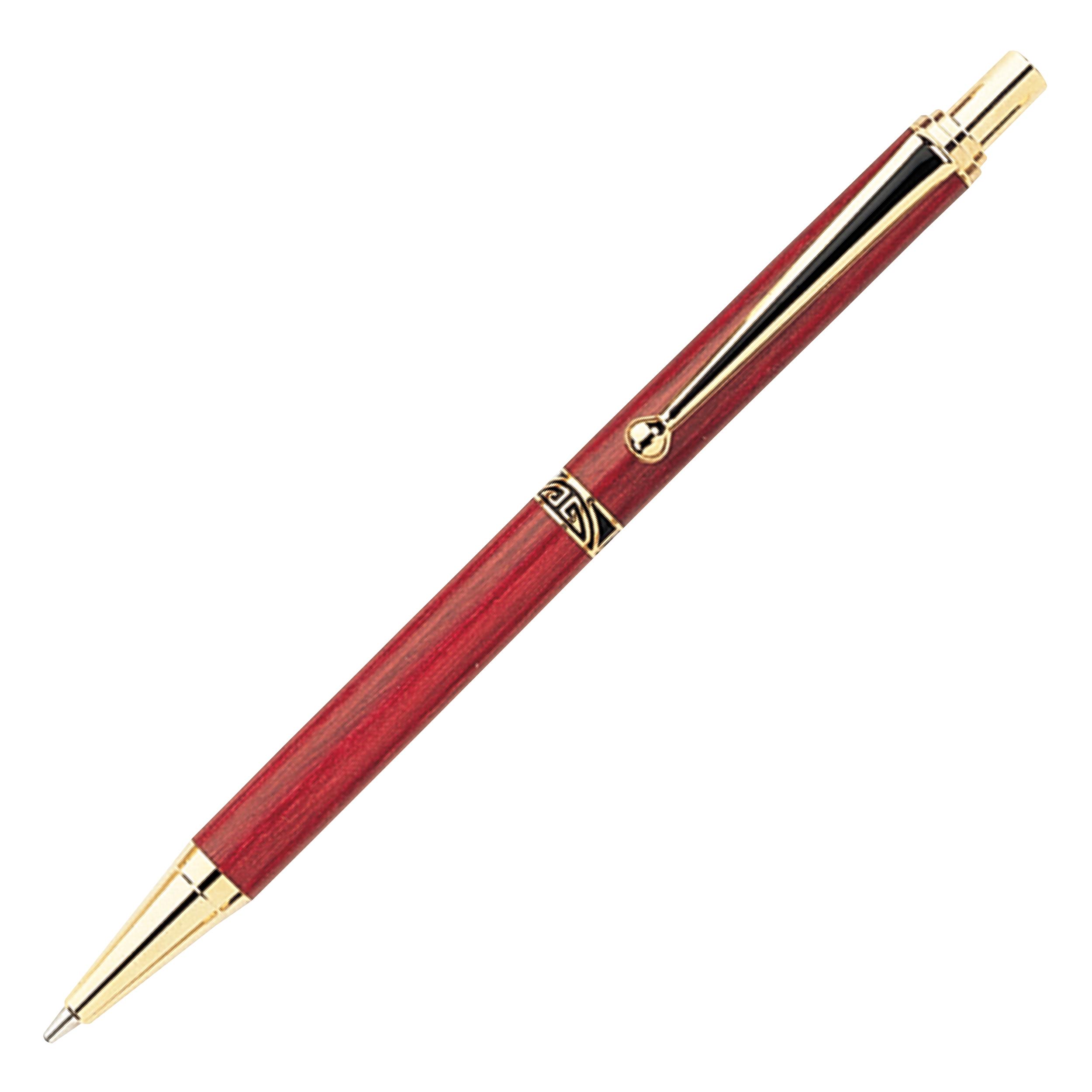 7mm Slim Style Black Strip Clip Pencil Kit - Gold