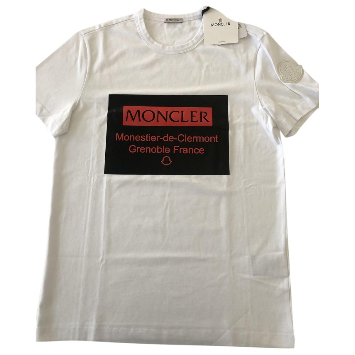 Moncler Genius - Tee shirts Moncler Grenoble n°3 pour homme en coton - blanc