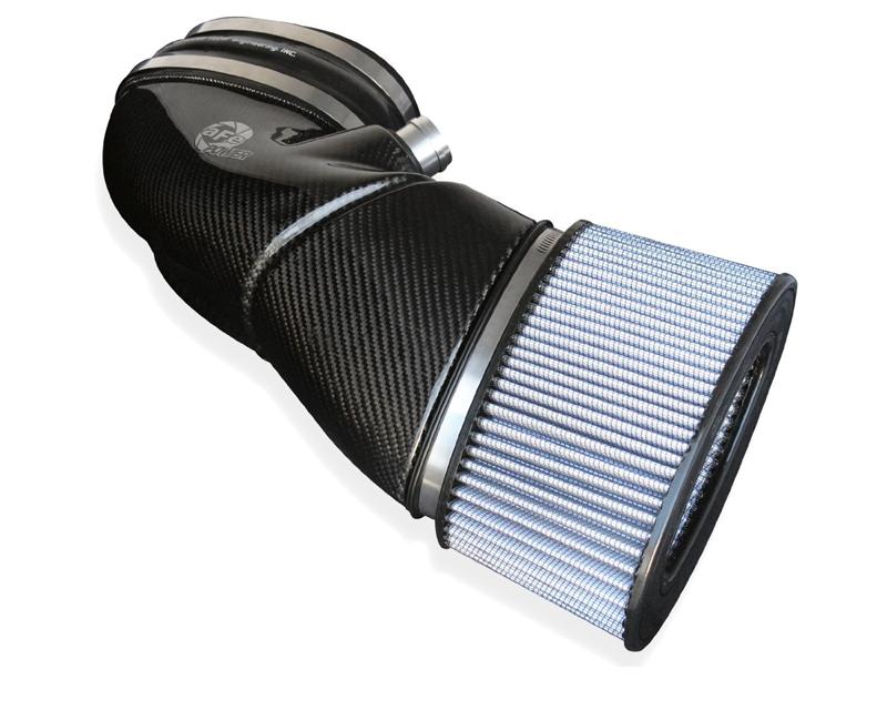 aFe Black Series Stage-2 Carbon Fiber Cold Air Intake System w/ Pro DRY S Media BMW M3 E90/92/93 V8-4.0L S65 08-13
