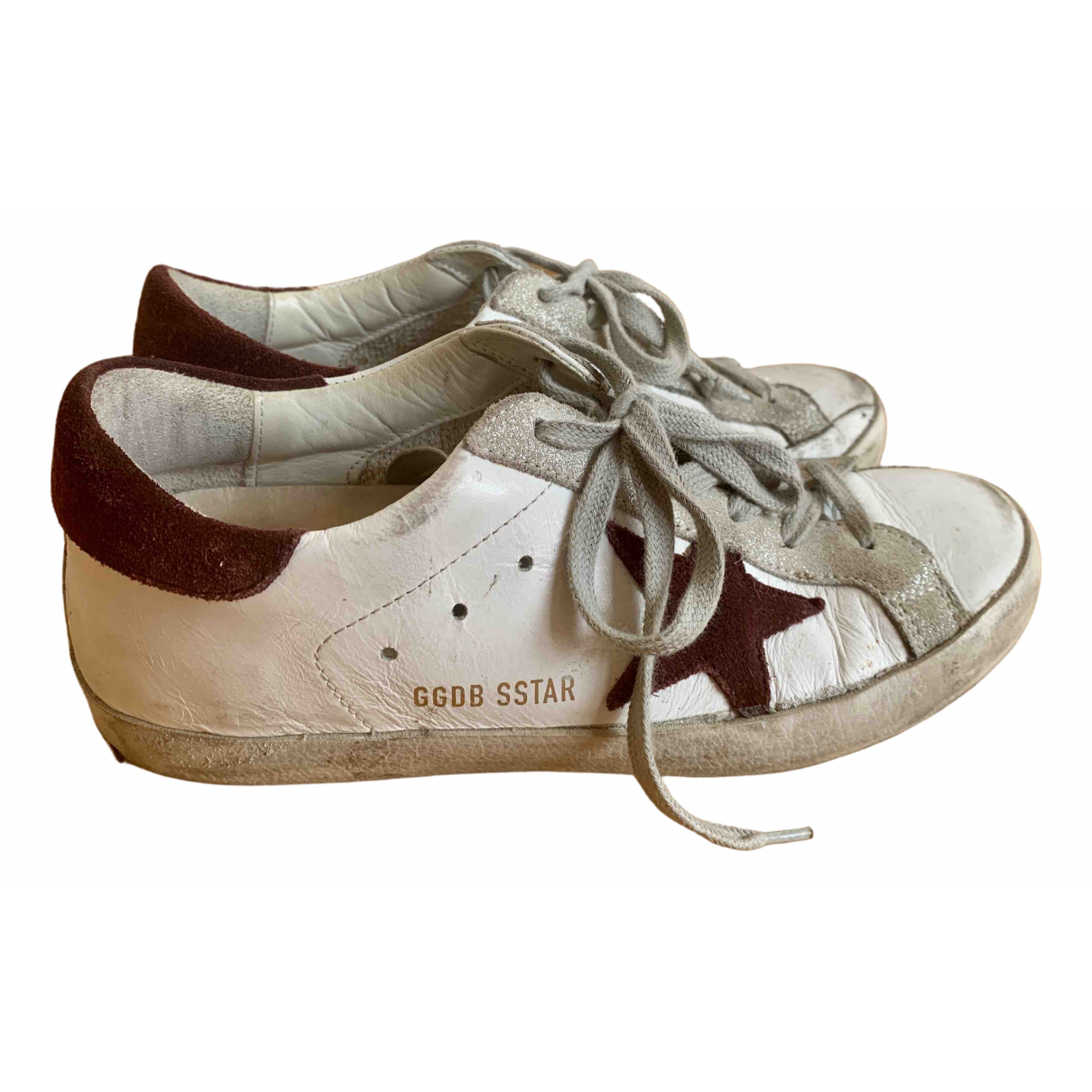 Golden Goose Superstar White Leather Trainers for Women 35 EU