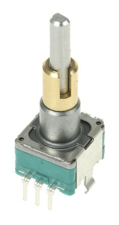 Alps Alpine 15 Pulse Incremental Mechanical Rotary Encoder with a 3.5 (Inner Shaft) mm, 6 (Outer Shaft) mm