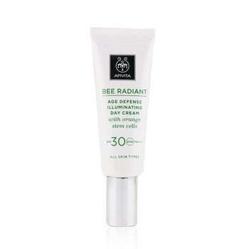 Bee Radiant Age Defense Illuminating Day Cream Spf 30