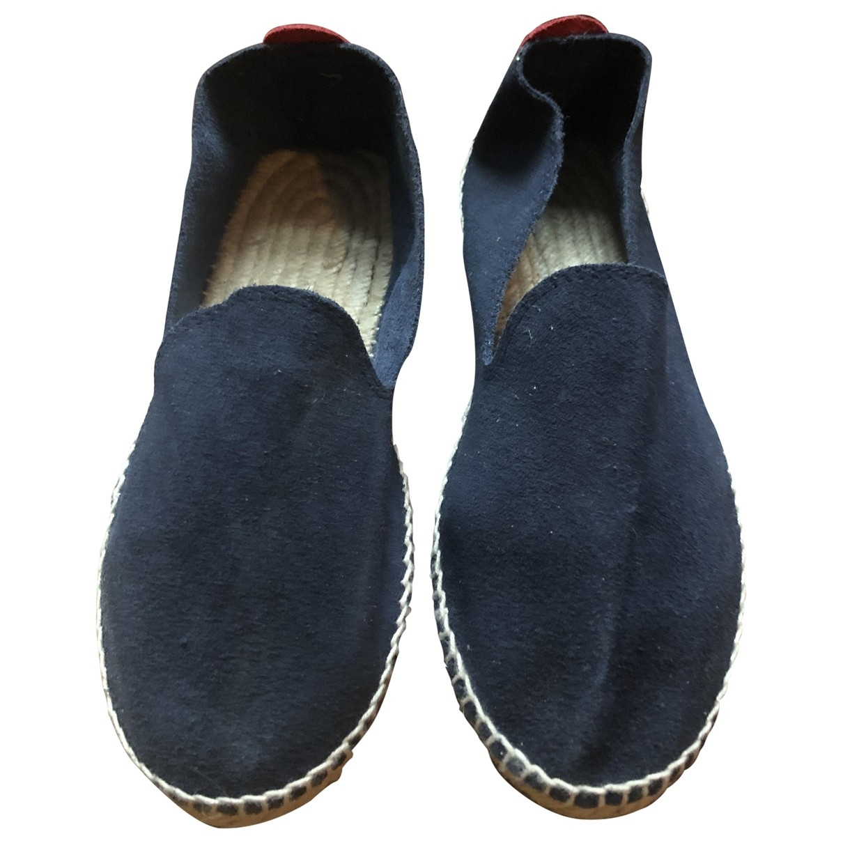 Non Signé / Unsigned \N Blue Pony-style calfskin Espadrilles for Women 37 EU