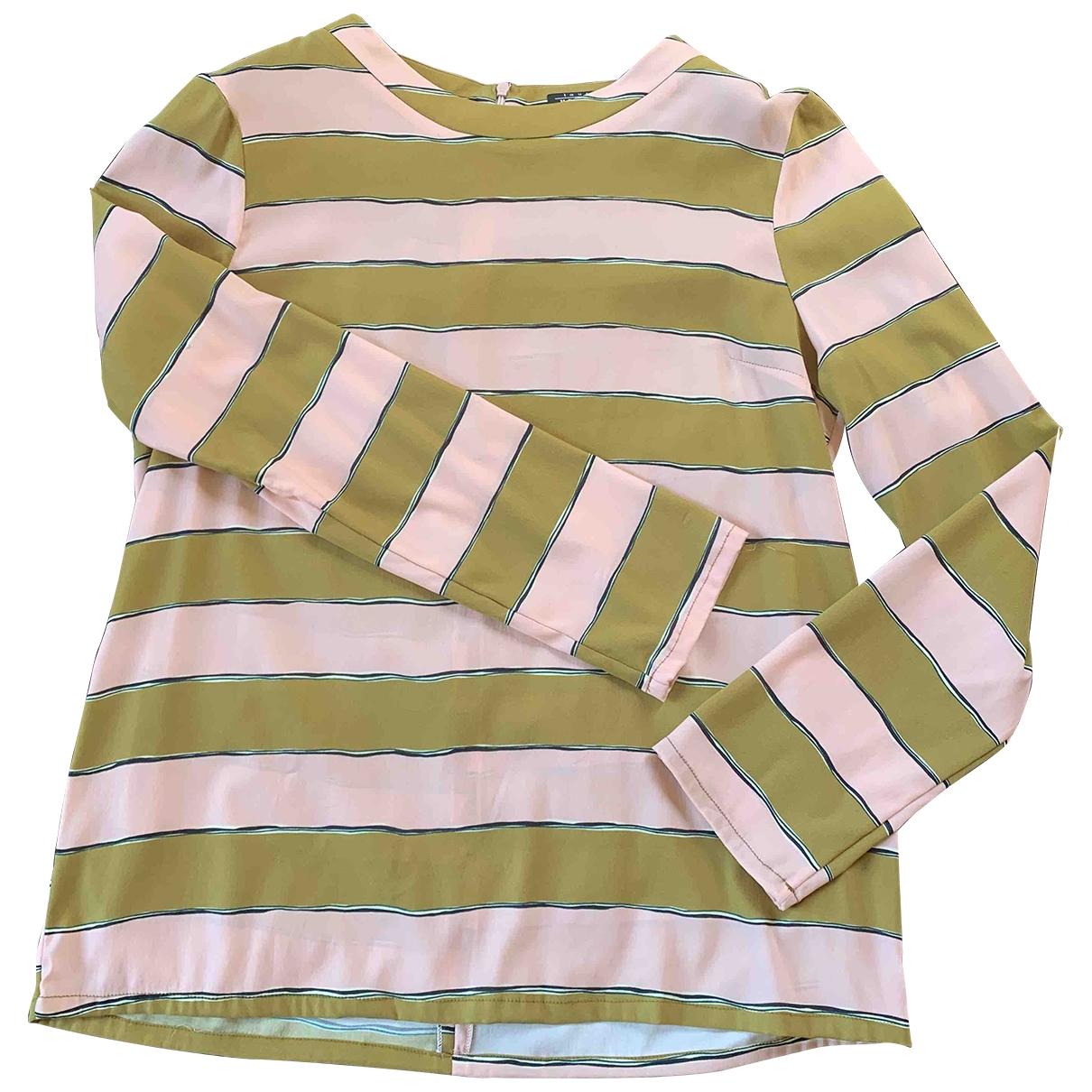Laura Urbinati \N Pink Silk  top for Women 46 IT