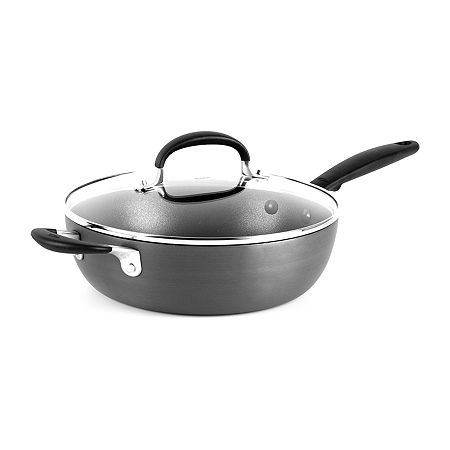 OXO Drop Ship Aluminum Hard Anodized Non-Stick Sauce Pan, One Size , Gray
