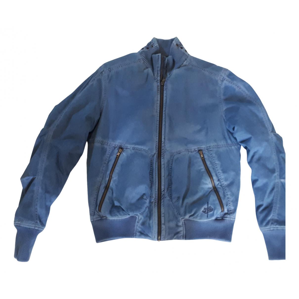Diesel - Vestes.Blousons   pour homme en coton - bleu