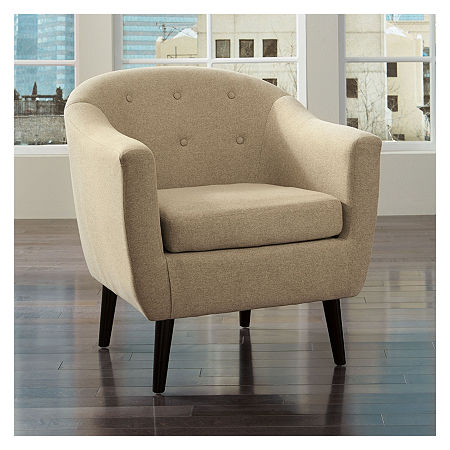 Signature Design by Ashley Klorey Accent Chair, One Size , Beige