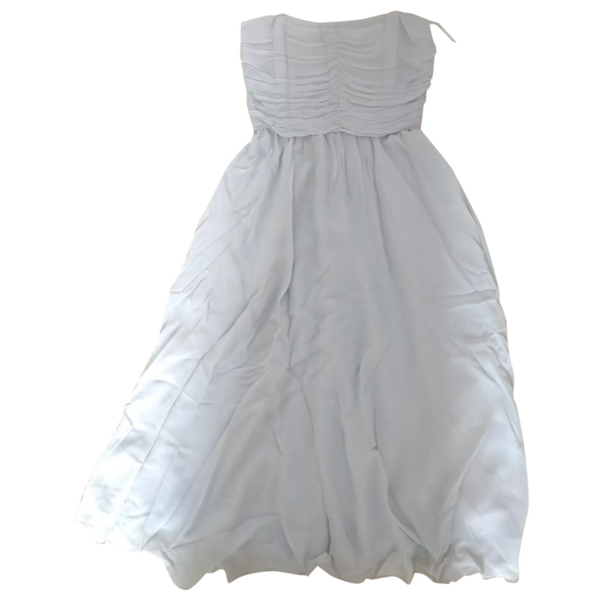Patrizia Pepe \N Kleid in  Blau Viskose